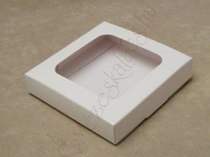 Ablakos mézeskalács díszdoboz kartonból