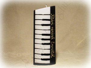 zongora gyertya
